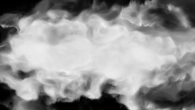 Cloudy Smoke Loop: Stock Motion Graphics