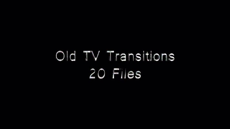 Old TV Transitions: Stock Motion Graphics
