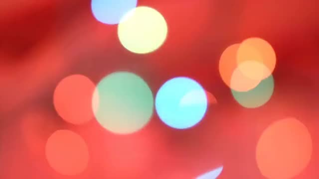 Christmas Bokeh Background: Stock Video