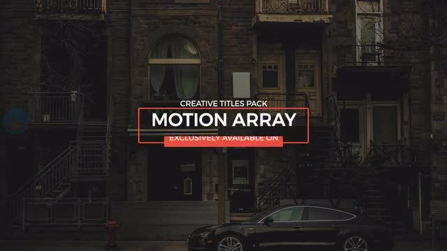 Titles Animation: Premiere Pro Templates