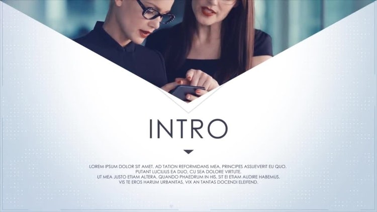 Corporate Slideshow Presentation: After Effects Templates