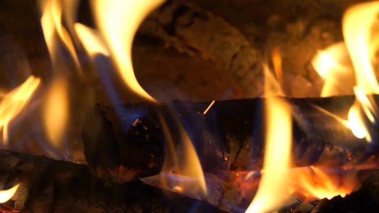 Fire Background: Stock Video