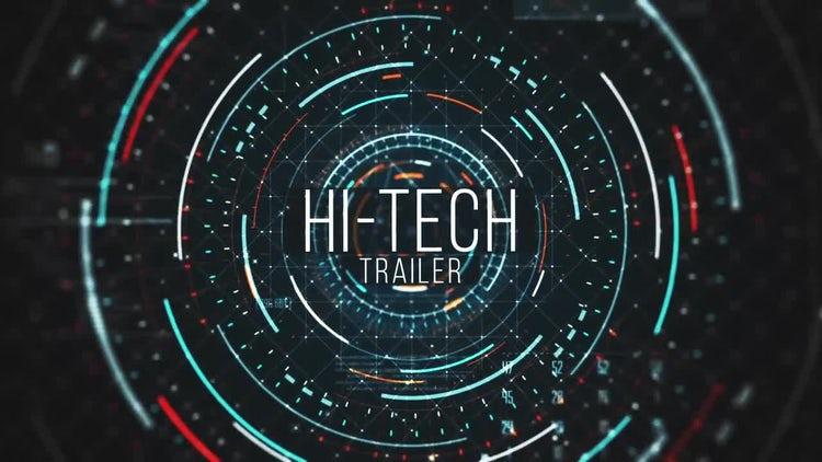 Hi-tech Trailer: After Effects Templates