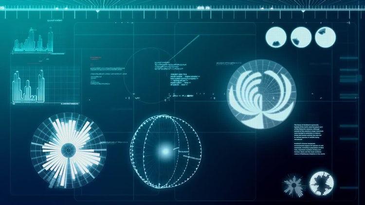 Computer Screen Loop: Motion Graphics