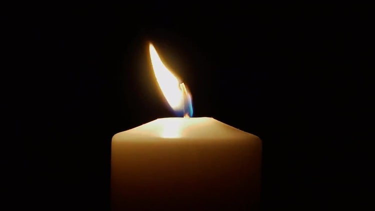 Flickering Candle: Stock Video