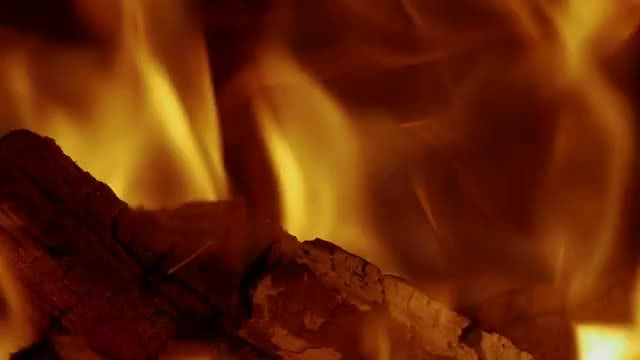 Coals Burning: Stock Video