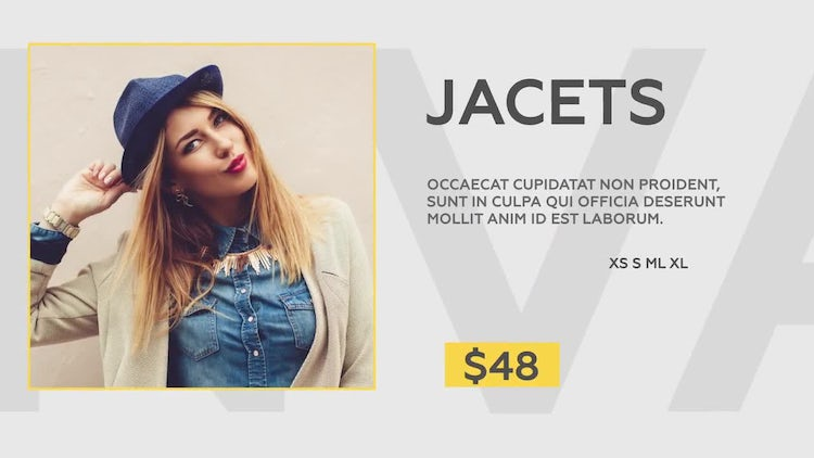 Fashion Store: After Effects Templates