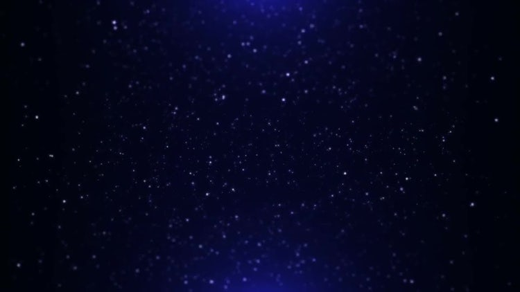Blue Particles: Motion Graphics