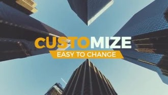 Dynamic Urban Slideshow: After Effects Templates