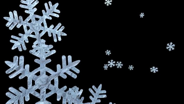 Christmas Snow Transitions: Stock Motion Graphics