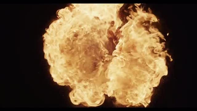 Fireball 04: Stock Video