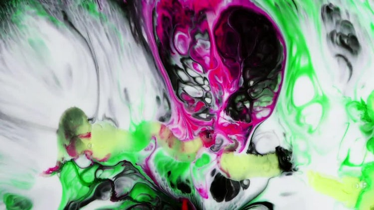 Ink Liquid Explode: Stock Video