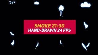 Liquid Elements Smoke 21-30: Motion Graphics