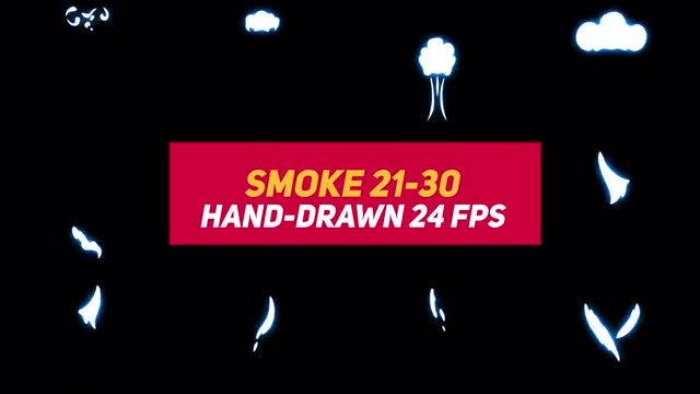Liquid Elements Smoke 21-30: Stock Motion Graphics