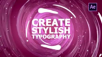 Liquid Motion Shapes And Transitions: After Effects Templates