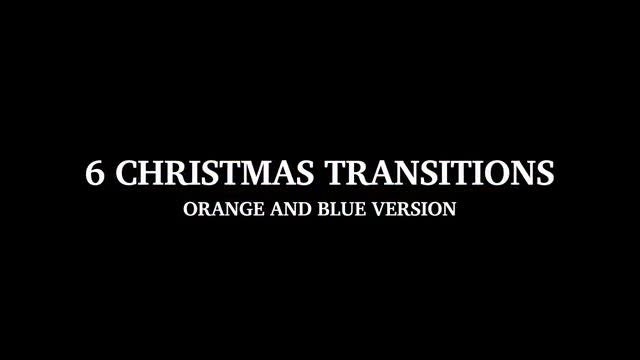 6 Christmas Transitions: Stock Motion Graphics