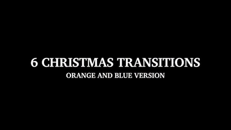 6 Christmas Transitions: Motion Graphics