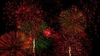 Fireworks Festival Background: Stock Motion Graphics