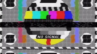 No Signal - Bad TV: Motion Graphics