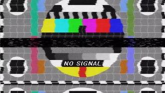 No Signal - Bad TV: Motion Graphics