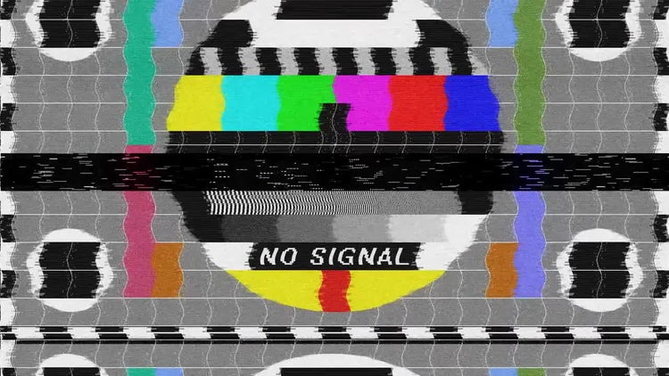No Signal - Bad TV: Stock Motion Graphics