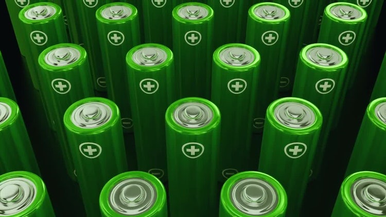 Green Power Batteries: Motion Graphics