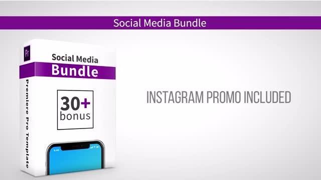 Social Media Bundle: Premiere Pro Templates