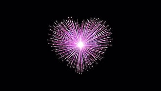 Fireworks Of The Heart: Motion Graphics