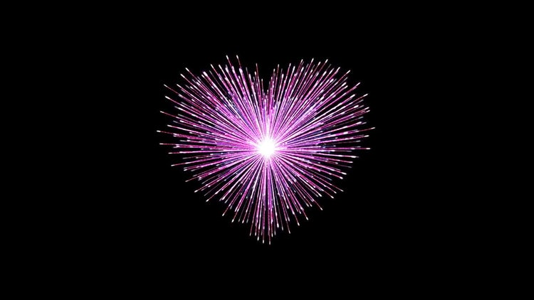 Fireworks Of The Heart: Stock Motion Graphics