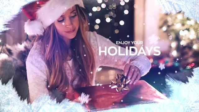 Christmas Slideshow: Premiere Pro Templates