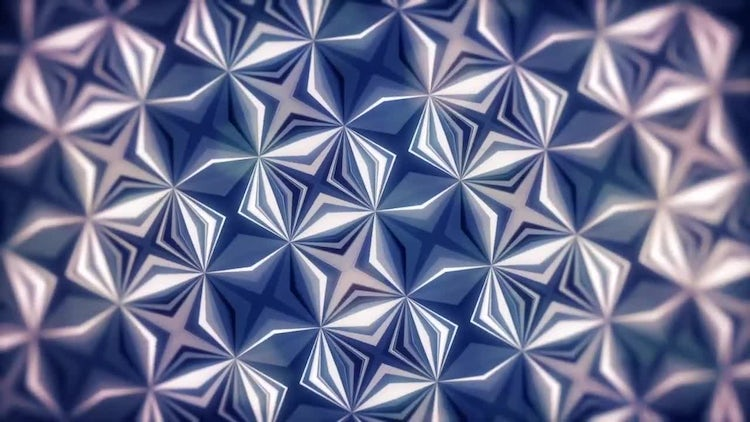 Kaleidoscope Pattern Background: Motion Graphics