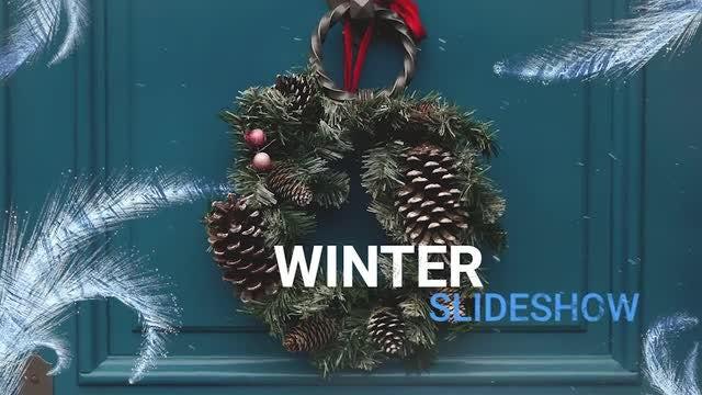 Snow Slideshow: Premiere Pro Templates