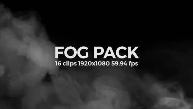 Fog Pack: Stock Video