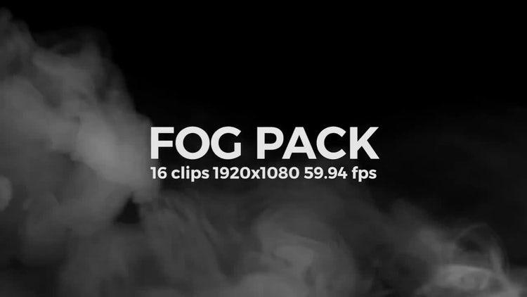 Fog Pack: Stock Video