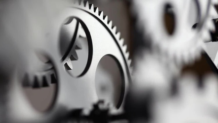 Clock Gears: Stock Video
