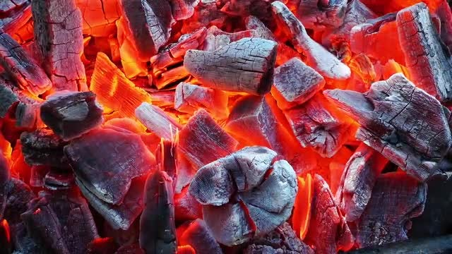 Coal Fire: Stock Video