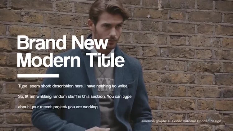 Title Zone V.1: Motion Graphics Templates