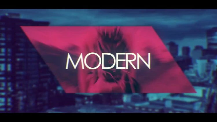 Stomp Abstract Opener: After Effects Templates