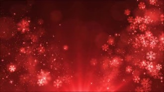 Christmas Sparkling Light Background: Motion Graphics