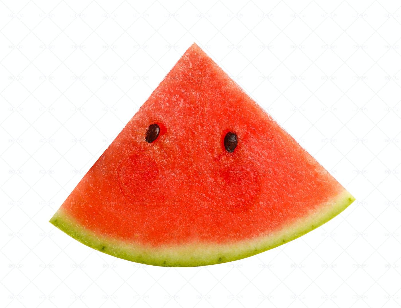 Watermelon Piece: Stock Photos