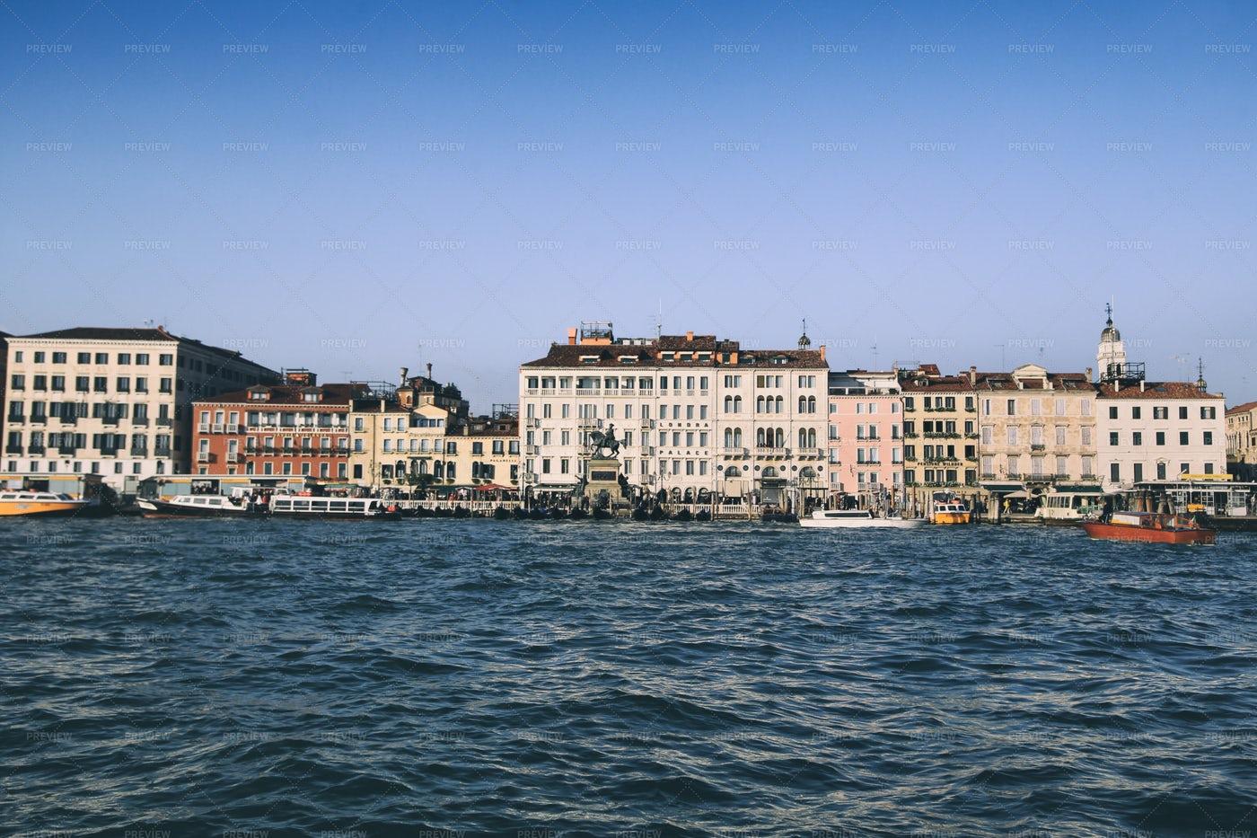 Venice And Boats: Stock Photos