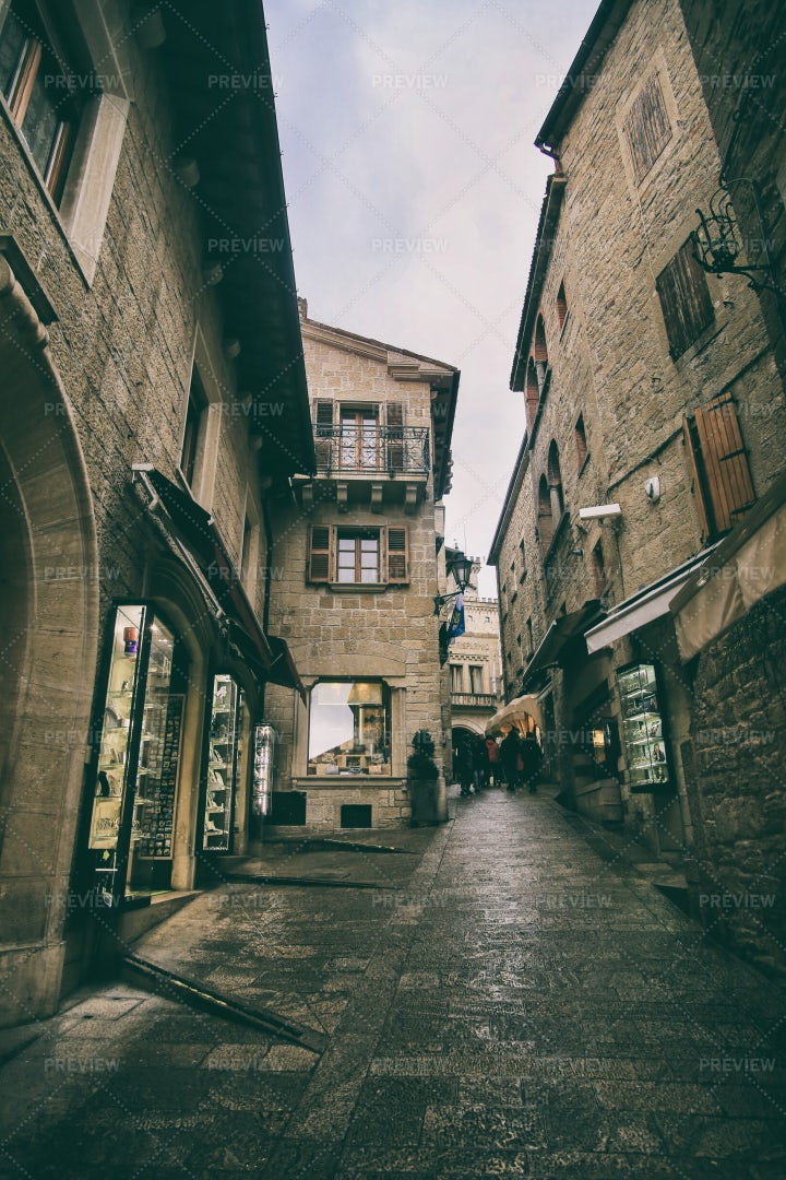 Old San Marino: Stock Photos