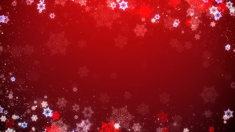 Christmas Sparkling Float: Motion Graphics