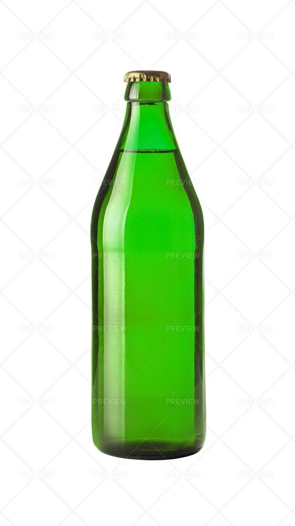 Green Beer Bottle: Stock Photos