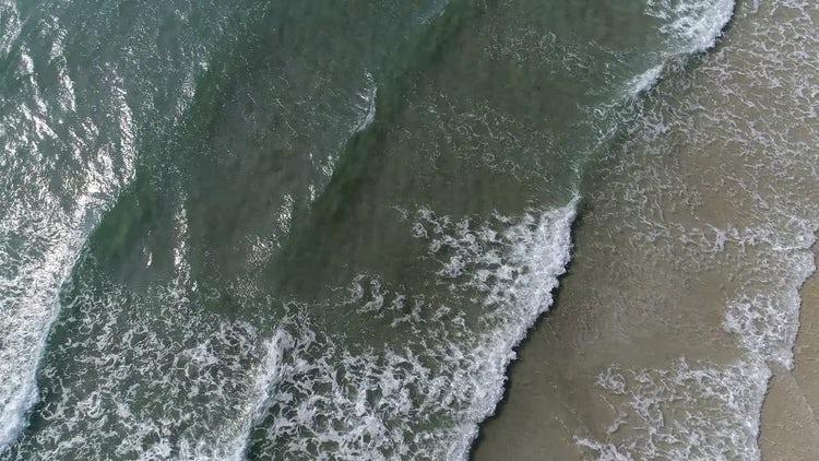 Sea Waves Beach Holiday: Stock Video