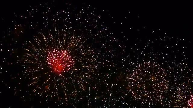 Fireworks Celebration: Stock Video