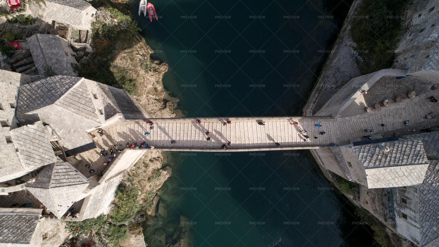 Old Bridge In Mostar: Stock Photos