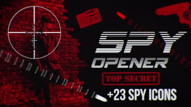 Spy Opener: Premiere Pro Templates