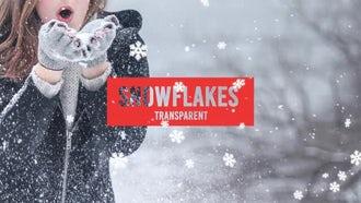 Snowflakes: Motion Graphics