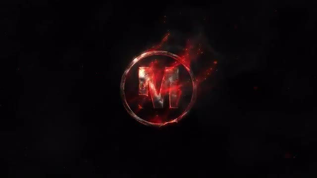 Cinematic Fire Logo: After Effects Templates